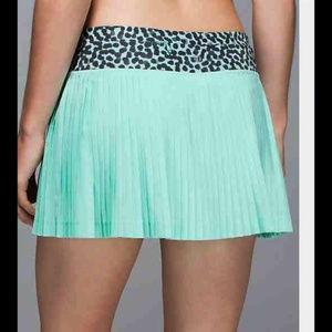 Lululemon Pleat To Street Skirt II Tranquil Blue 2